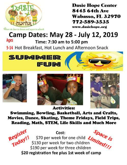 Summer Camp Flyer 2019 website